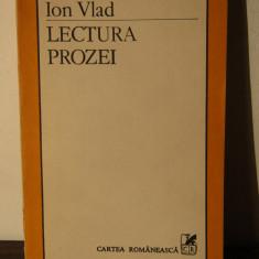 LECTURA PROZEI -ION VLAD - Eseu
