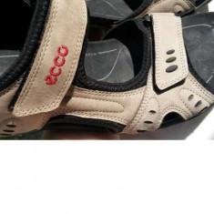Sandale barbati marca ECCO nr.43 originale, Culoare: Maro