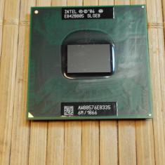 Procesor Laptop Intel Core 2 Duo E8335 2, 93 GHz SLGEB socket P, 2500- 3000 Mhz, Numar nuclee: 2, P