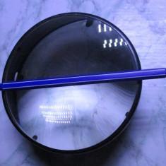 Obiectiv condensor condensator optic 13 cm aparat proiectie ocular lupa lentila
