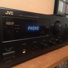 Amplificator Stereo/ProLogic JVC model AX-V4BK cu Telecomanda - Impecabil/Japan - Amplificator audio JVC, 41-80W