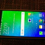 Samsung Galaxy Alpha 32Gb - Telefon mobil Samsung Galaxy Alpha, Negru, Neblocat, Octa core
