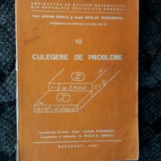 MATEMATICA CULEGERE DE PROBLEME, GHIOCA TEODORESCU - Culegere Matematica