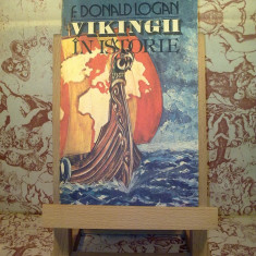 """F. Donald Logan - Vikingii in istorie """"A2694"""""""