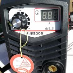 Aparat de sudura invertor EDON 200 MINI. Afisaj electronic - Invertor sudura