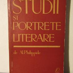 STUDII SI PORTRETE LITERARE -AL.PHILIPPIDE - Studiu literar