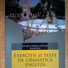 G. Galateanu-Farnoaga, D. Parks - Exercitii si teste de gramatica engleza - Carte in engleza