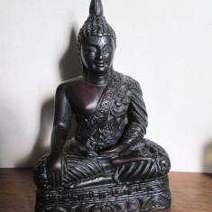 Statueta Buddha superba, probabil din rasina. Marime 11 cm. - Arta din Asia