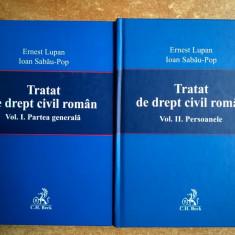 Ernest Lupan, Ioan Sabau-Pop - Tratat de drept civil roman {2 volume}