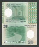 TADJIKISTAN   20  DIRAMS  1999   UNC  [1]  P-12a  ,   necirculata