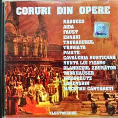 Coruri Celebre Din Opere (CD Electrecord din 1990) - Muzica Opera