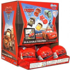 Masinute Cars 2 Large Figures Pack Of 18 Gacha Box Disney