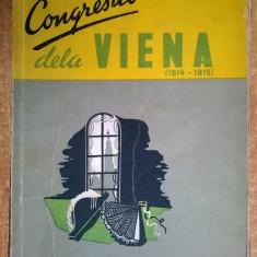 Cipriano Giachetti - Congresul dela Viena (1814-1815) - Istorie