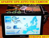 "GPS ECRAN 7"" NAVIGATII GPS Camion GPS TIR  APARATE GPS 8GB, iGO Primo EU 2017, Toata Europa, Lifetime"