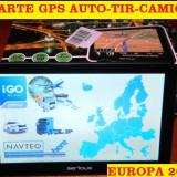 "GPS ECRAN 7"" NAVIGATII GPS Camion GPS TIR APARATE GPS 8GB, iGO Primo EU 2017, 7 inch, Toata Europa, Lifetime, Car Sat Nav, peste 32 canale"