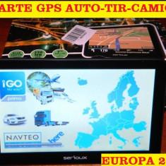 """GPS ECRAN 7"""" NAVIGATII GPS Camion GPS TIR  APARATE GPS 8GB, iGO Primo EU 2017"""