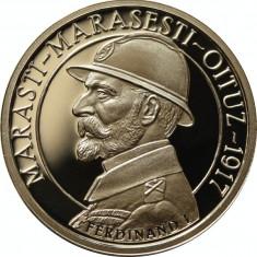 Romania 50 Bani 2017 Marasesti Marasti Oituz Regele Ferdinand I in capsula - Moneda Romania
