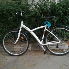 Vand bicicleta B'TWIN ORIGINAL 300 POLIVALENTA - Bicicleta Trekking, 17 inch, 28 inch, Numar viteze: 21