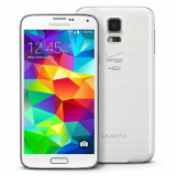 Samsung S 5 g900fd Dual sim accidentat dar in stare buna de functionare. - Telefon mobil Samsung Galaxy S5, Alb, 16GB, Neblocat