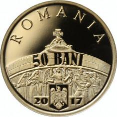 50 bani 2017 -100 de ani de la victoriile armatei române - Moneda Romania