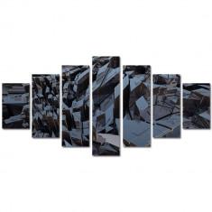 Tablou Multicanvas 7 Piese Metal