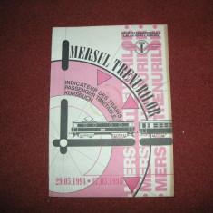 Mersul trenurilor 1994 - 1995