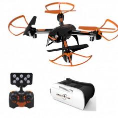Drona cu teleghidare wi-fi, camera si ochelari VR