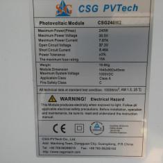 Panouri solare fotovoltaice 240W - Panou solar