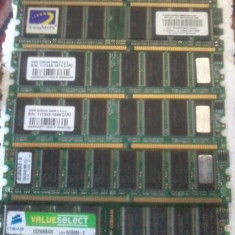 Memorii DDram I 256 Mb 400 Mhz 4 bucati 256 Mb + una 512 mb - Memorie RAM PNY