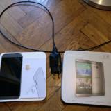 HTC One M8 + card 32 Gb - Telefon mobil HTC One M8, Gri, 16GB, Orange