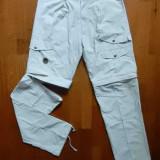 Pantaloni trekking detasabili Gaupa; marime M, vezi dimensiuni;7 buzunare;ca noi - Pantaloni barbati, Marime: M, Culoare: Din imagine