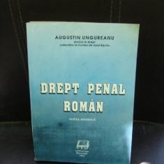 DREPT PENAL ROMAN - AUGUSTIN UNGUREANU - Carte Drept penal
