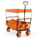 WALDBECK THE Orange SUPREME, cărucior de mână, pliabil, 68 kg, acoperiș de soare - Filtru si material filtrant acvariu