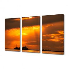 Tablou Multicanvas 3 Piese Vapoare - Tablou canvas