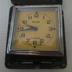 Ceas de voiaj slava ca defect c11 - Ceas de masa