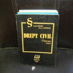 DREPT CIVIL - ERNEST LUPAN - Carte Drept civil