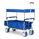 WALDBECK THE Blue SUPREME, cărucior de mână, pliabil, 68 kg, acoperiș de soare - Filtru si material filtrant acvariu