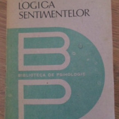 Logica Sentimentelor - Theodule Ribot, 399258 - Carte Psihologie