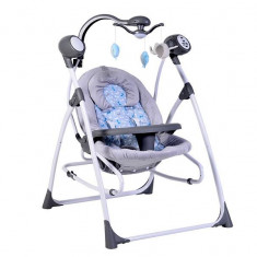 Leagan Electric Bebelusi CANGAROO Swing Star Gri - Balansoar interior