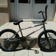 Vand bmx custom - Bicicleta BMX, 21 inch, 20 inch, Numar viteze: 1