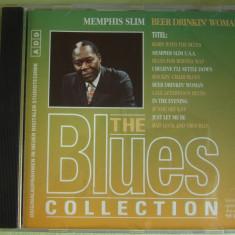 MEMPHIS SLIM - Beer Drinkin' Woman - The Blues Collection - C D Original ca NOU, CD