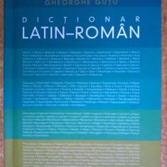 Gh. Gutu – Dictionar latin-roman {Humanitas, 2012}