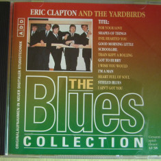 ERIC CLAPTON and THE YARBIRDS - The Blues Collection - C D Original ca NOU, CD