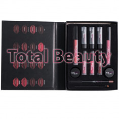 Set Rujuri Lichide Mate, Ruj Mat, Eyeliner, HudaBeauty Limited Edition