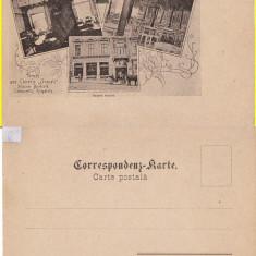Cernauti, Bucovina - Berarie- clasica - RR - Carte Postala Bucovina pana la 1904, Necirculata, Printata
