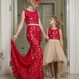 "Set Rochii Mama-Fiica ""Princess Ariel"" - LA COMANDA"