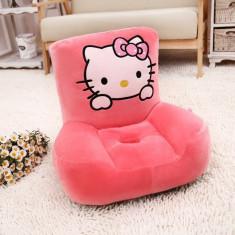 Fotoliu din plus copii Hello Kitty - Fotoliu copii