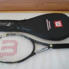 Racheta tenis WILSON 5.3 HYPER HAMMER CARBON - Racheta tenis de camp