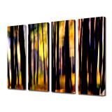Tablou Multicanvas 4 Piese In padure - Tablou canvas
