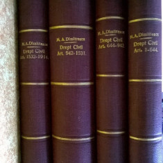Manual de drept civil {4 volume, 1929}